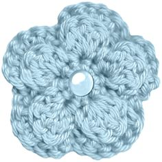 Busy Bees Craft Place: Free Five Petal Crochet Flower Pattern