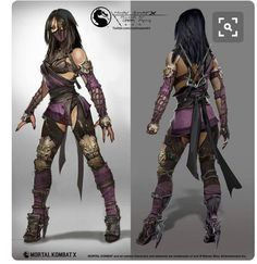 View an image titled 'Mileena Concept Art' in our Mortal Kombat X art gallery featuring official character designs, concept art, and promo pictures. Mortal Kombat X, Mortal Kombat Cosplay, Character Concept, Character Art, Concept Art, Character Design, Character Inspiration, Character Outfits, Character Ideas