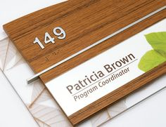 Fusion Interior Signage Collections - Takeform Architectural Graphics