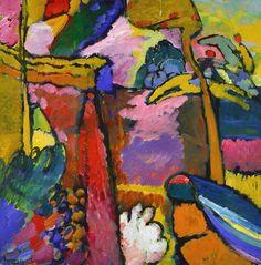 "inspirationandart: "" Wassily Kandinsky (1866 - 1944): Study for Improvisation V, 1910 """