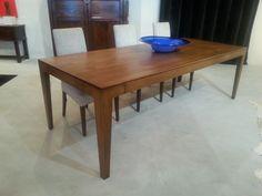 Studio Table - French Oak - Satin Lacquer Finish