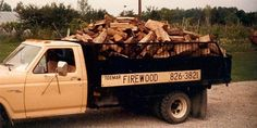 Do you need some wood for your fireplace? Contact us ;)