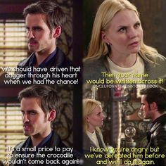"#OnceUponATime 4x16 ""Poor Unfortunate Soul"" - Hook and Emma"