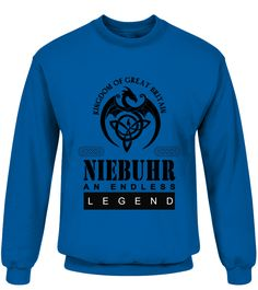 THE LEGEND OF THE ' NIEBUHR '  Funny Name Starting with N T-shirt, Best Name Starting with N T-shirt, name brand shirts, name shirts for women, custom name shirt, name shirts for men, baby name shirt
