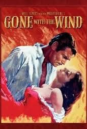 Gone With The Wind. This classic film narrates the love between Scarlett O'Hara and Rhett Butler during the American civil war. It's the history of a selfish woman who doesn't want to admit her feelings about the man she loves, and finally loses him.  - Chris Makrozahopoulos <makzax@hotmail.com>