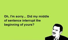Interruptions in Brazil and how to deal with them...