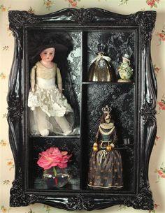 Black wall box from Victorian Trading Company