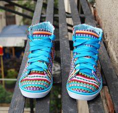 wanelo tribal shoes <3