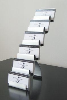 Multiple business card holder business card stand wood business multiple business card holder business card stand wood business card displaybusiness card display card display gift card display black pinterest colourmoves