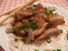 Čínské vepřové nudličky Sweet Home, Pork, Beef, Chicken, Cooking, Recipes, Asia, Kale Stir Fry, Meat