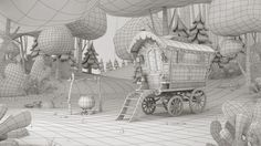 Bixorama: animation + illustration