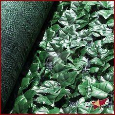 """72 """" (H) artificial de imitación de Hoja de hiedra de privacidad valla Pantalla Decoración paneles al aire libre de cobertura"""