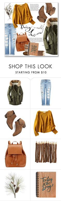 """""""Today is the day."""" by bombaysapphire ❤ liked on Polyvore featuring American Eagle Outfitters, Genetic Denim, Anja, Chelsea Crew, Barneys New York, Crate and Barrel, winterstyle and winteressential"""