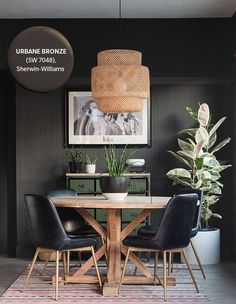 Urbane Bronze | Photographer: Vintage Revivals | Designer: Vintage Revivals Top Paint Colors, Paint Colors For Home, Wall Colors, House Colors, Warm And Cool Colors, Condo Decorating, Decorating Ideas, Home Trends, House Painting