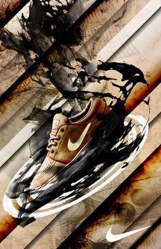 Nike Posters by Sean Morse, via Behance