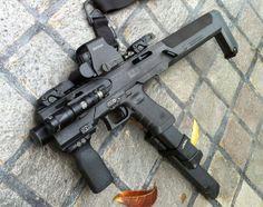 Glock to carbine conversion