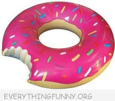 Awesome Doughnut Pool Float