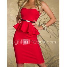 Sexy Ceinture Slim Mini robe bandeau de la femme de 2017 ? $30.89