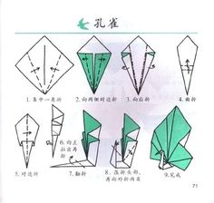 How To Fold An Origami Swan Origami Peacock Instructions Beautiful Origami Swan Work Folding Swan Or Origami Design, Napkin Origami, Instruções Origami, Origami Yoda, Origami Dragon, Origami Butterfly, Origami Folding, Useful Origami, Napkin Folding