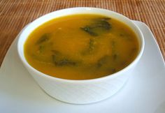 Turnip greens soup - Food From Portugal. Turnip greens soup is a very creamy soup, tasty and easy to prepare, enriched with vegetables and with turnip greens. Can be served with toasts. http://www.foodfromportugal.com/turnip-greens-soup/