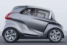 Peugeot BB1: carrinho suporta quatro pessoas e usa energia solar