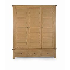 Free delivery over to most of the UK ✓ Great Selection ✓ Excellent customer service ✓ Find everything for a beautiful home Buy Wardrobe, Triple Wardrobe, Wardrobes, Tall Cabinet Storage, Beautiful Homes, Stuff To Buy, Furniture, Home Decor, House Of Beauty
