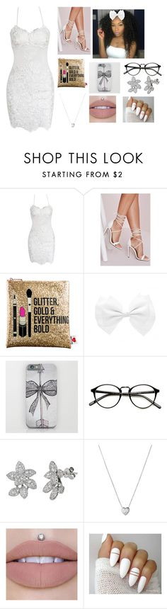 """""""Untitled #812"""" by melaninboobies ❤ liked on Polyvore featuring Missguided, Sephora Collection, Bow & Arrow and Links of London"""