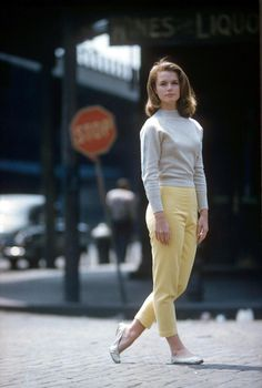 Actress Lee Remick in a photo shoot for LIFE magazine, 1960.