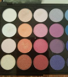 Review, Swatches, Photos: Makeup Revolution Mermaids Forever 32 Piece Eyeshadow Palette