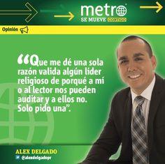 Columna de Alex Delgado: Iglesia y hacienda