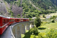 (Shutterstock) 10 Scenic Train Trips In Europe: Swiss Alps, Italian Lakes: Zurich, Switzerland, to Lake Como, Italy (The joy of train travel is the transition from one place to another, watching the landscape unfold before you as you cross borders by rail. Starting out in Zurich's cosmopolitan centre, this train quickly ascends into the Swiss Alps, passing green lakes, quaint villages, and snowy peaks. Just a few hours later you'll descend into Italy, to the shores of Lake Como, catching…