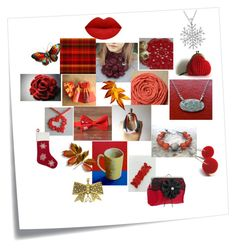 """Gift Giving Season"" by crystalglowdesign ❤ liked on Polyvore featuring art"