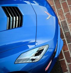 2014 Chevrolet Corvette Stingray Pace Car Hood
