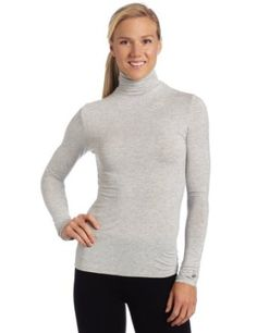 cuddle duds womenu0027s softwear with stretch long sleeve turtle neck top