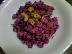 Recetas de Gourmet: Arroz Morado con Chauchas y Frutos Secos