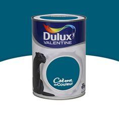 34€ Peinture murs et boiseries Bleu paon satin 1,25 L