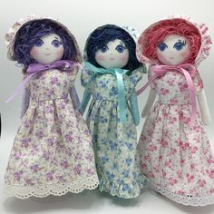 From the Dainty Little Dolls Prairie Girl Collection!  Find us on Instagram @daintylittledolls !