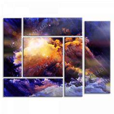Картина Буря красок