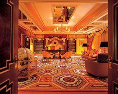 salon marocain moderne, beau salon chaleureux