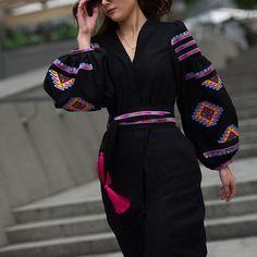 www.varenykyfashion.com  #vyshyvanka_by_varenykyfashion #modernfolk #embroidereddress