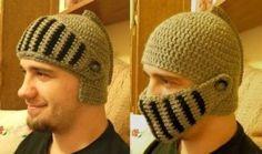 Medieval Crochet Helmet - DIY - AllDayChic