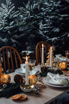 ⟪ New Year is coming: wonderful ideas for holiday table by Zara Home⟫ ◾ Фото ◾Идеи ◾Дизайн Harry Potter Christmas Decorations, Christmas Table Decorations, Decoration Table, Holiday Decor, Merry Christmas To You, Christmas Mood, Noel Christmas, Zara Home Christmas, Nordic Christmas