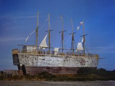 Pics of Jockey's Ridge Putt Putt or Ghost Ship attraction | OBX Connection Message Board