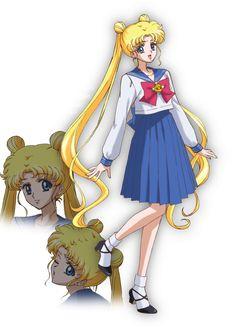 Usagi Tsukino. Sailor Moon Crystal