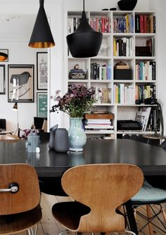 """urbnite: """" Ant Chair (Four Legs) Ant Chair (Three Leg) """" My Living Room, Home And Living, Living Spaces, Eames Eiffel Chair, Ant Chair, Style Retro, Decoration, Interior Inspiration, Interior Decorating"""