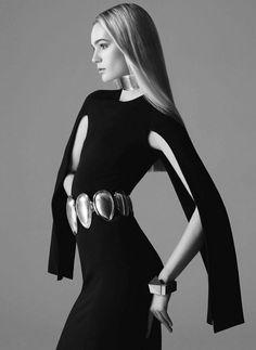 Model: Juju Ivanyuk - Harper's Bazaar Spain