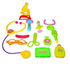 Dazzling Toys Little Doctors Kit with Adorable Accessories - 12 Piece Set * Check this awesome product by going to the link at the image.