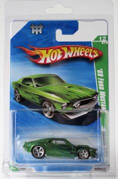 2010 Hot Wheels Super Treasure Hunt # 064 '69 Ford Mustang 12/12