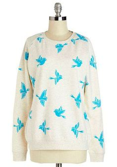 Bluebirds of a Feather Sweatshirt by Sugarhill Boutique