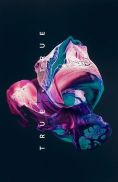 graphic design & branding. Colorful marble in abstract